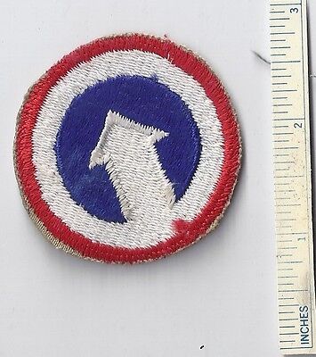 Original WW2 Patch 1st FIRST LOGISTICAL COMMAND WWII Shoulder Military US Army