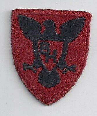 Original WW2 Patch 86th (New) INFANTRY DIVISION WWII Shoulder US Army Military