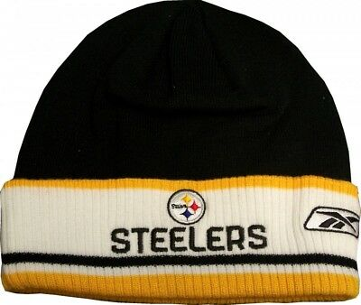 Pittsburgh Steelers Reebok Nfl Authentic Coaches Cuff Knit