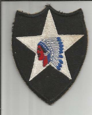WW 2 US Army 2nd Infantry Division Patch Inv# B169