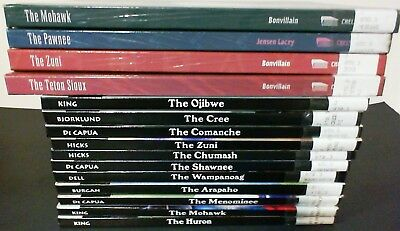 Lot of 15 Children's Hardcover Books about Native North American Indian Tribes