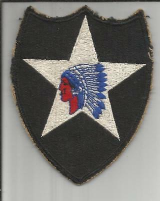 WW 2 US Army 2nd Infantry Division Patch Inv# B170