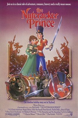 The Nutcracker Prince Original S/S One Sheet Rolled Movie Poster 27x40 NEW 1990