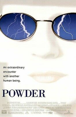 Powder Original D/S Rolled Movie Poster 27x40 NEW 1995 Sean Patrick Flannery