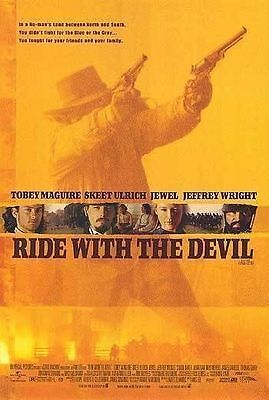 Ride with the Devil Original D/S One Sheet Rolled Movie Poster 27x40 NEW 1999
