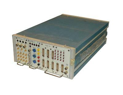 Tektronix Tm504 Power Module With 703T00233, 703T00235, And 702T00237 Plug-Ins