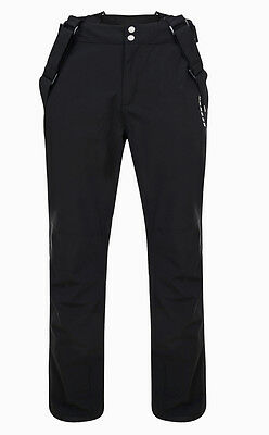 Mens BLACK Dare2b CERTIFY Stretch Ski Salopettes Pants S - XL SHORT LEG