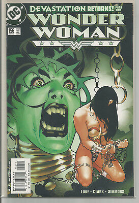 WONDER WOMAN # 156 *  ADAM HUGHES cover