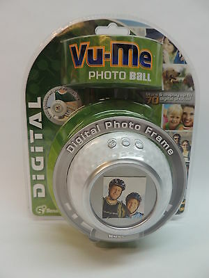 Vu-Me Photo Golf Ball Digital Frame Gift NEW Senario up to 70 Photographs