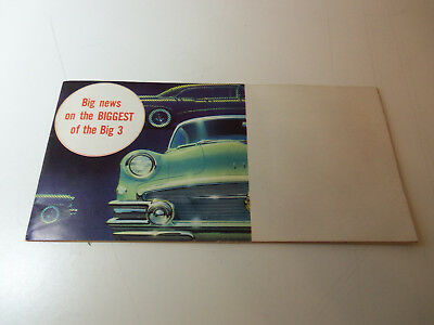 1956 BUICK 24 page Booklet - Brochure ALL FULL COLOR Roadmaster Riviera Century