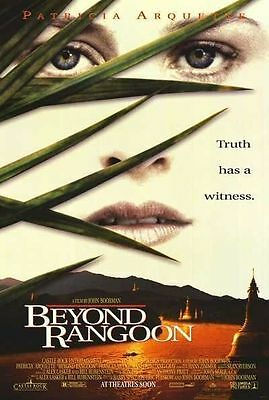 Beyond Rangoon Original D/S Rolled Movie Poster 27x40 NEW 1995 Patricia Arquette