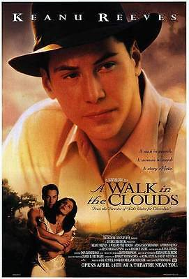 A Walk in the Clouds Original D/S  Keanu Reeves  Rolled Movie Poster 27x40 NEW
