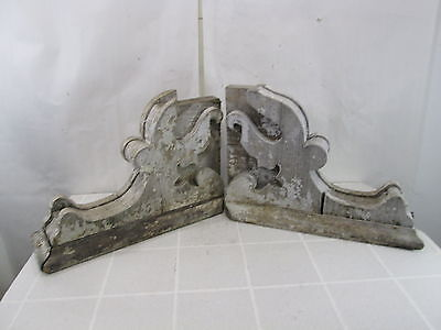 2 Antique Architectural Salvage Large House Corbels