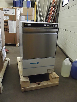 Hobart Commercial Glasswasher Ecomax G404S Front Loading with water softener