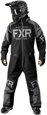 FXR Clutch Mens Insulated Monosuit Black Ops