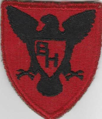 HTF WW 2 US Army 86th Infantry Division Patch Greenback Inv# 4765