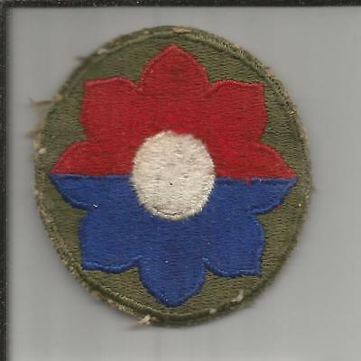 WW 2 US Army 9th Infantry Division Patch Inv# B246