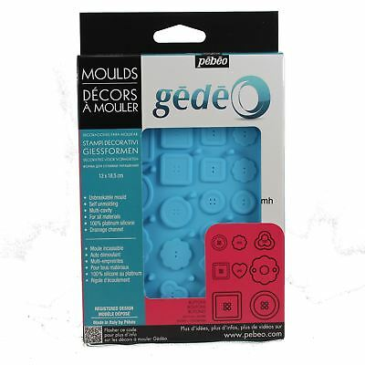 Silcone Mould Jewels buttons resin casting moulds Gedeo