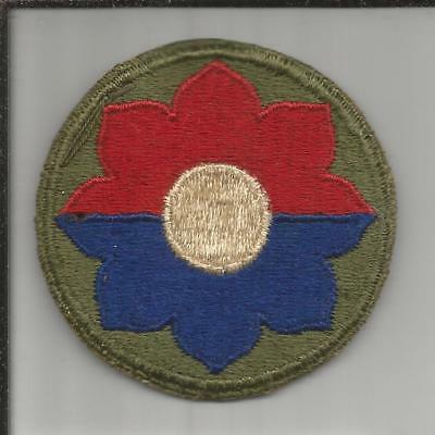 WW 2 US Army 9th Infantry Division Patch Inv# B252