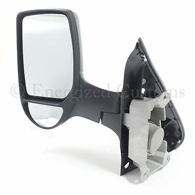Ford Transit Van Mk7 2006-2014 Manual Short Arm Wing Door Mirror Passenger Side