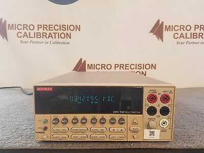 Keithley 2015 6/12 Digit THD and Audio Analysis Multimeter  *AS IS*
