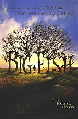Big Fish Original Single-Sided Glossy Advance Rolled Movie Poster 27x40 NEW 2003