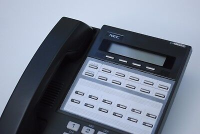 NEC BDS DS1000 DS2000 22 Button Display Telephone 80573 DX7NA-12THX Charcoal