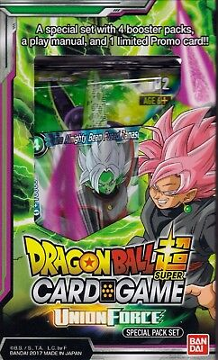Dragonball Super Card Game Union Force special pack set 4 packs English