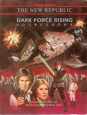 STAR WARS Roleplaying Game West End Games DARK FORCE RISING SOURCEBOOK