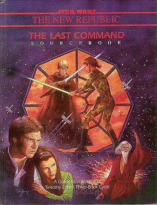 STAR WARS Roleplaying Game West End Games THE LAST COMMAND SOURCEBBOOK Hardcover