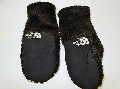 The North Face Girls' Denali Thermal Mittens, Black, Small