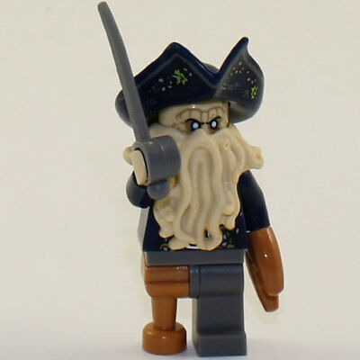 Lego Minifigure Pirates Of The Caribbean Davy Jones Nm