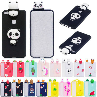 For Huawei P10 P8 Lite 3D Christmas Soft Silicone TPU Skin Case Phone Back Cover
