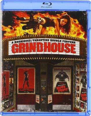 BLU-RAY Grindhouse: Death Proof & Planet Terror (Blu-Ray) NEW Kurt Russell
