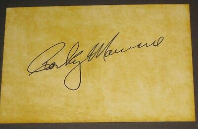 ROCKY MARCIANO Signed Postcard BENLEE The Ring Boxing Collectible READ LISTING