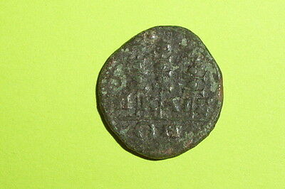 Ancient ROMAN COIN of SEVERUS ALEXANDER legionary standards military old antique