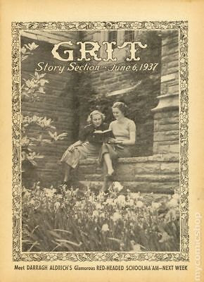 Grit Story Section (c. 1916) #Year 1937, Month 6JUN06 FN 6.0 STOCK IMAGE