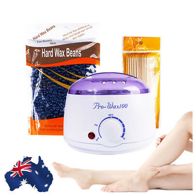 Removal Salon Beauty Waxing Wax Pot Warmer Paraffin Heater Hair Equipment AU HOT