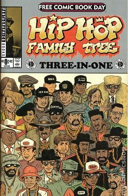 Hip Hop Family Tree Three-in-One (2015 Fantagraphics) FCBD #0 NM STOCK IMAGE
