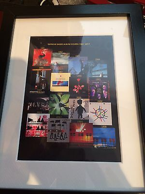 Depeche Mode Souvenir Framed Album Covers