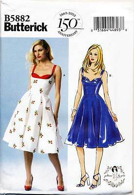 Fifties 50s dress Retro Gertie sewing pattern puff B6352 gypsy gathered
