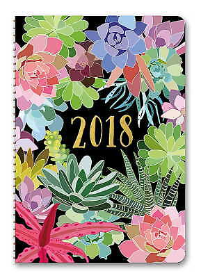 Succulents On-Time Weekly Planner 2018 by Orange Circle Studio