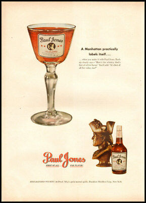 1949 vintage ad for Paul Jones Whiskey -269