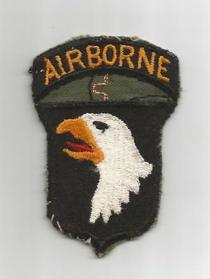 WW 2 US Army 101st Airborne Division Patch Off Uniform Inv# G466
