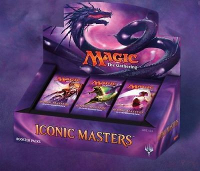Iconic Masters Booster Box Display English factory sealed