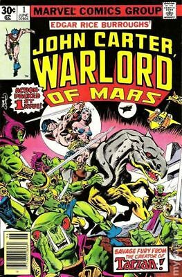 John Carter Warlord of Mars (1977 Marvel) #1 FN 6.0 STOCK IMAGE