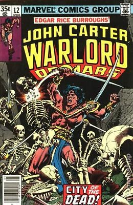 John Carter Warlord of Mars (1977 Marvel) #12 FN STOCK IMAGE