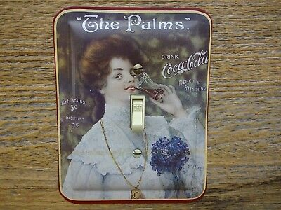 Coke Light Switch Cover Plate Made From Coca Cola Tin Victorian Decor The Palms