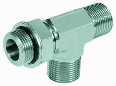 """Hydraulic Adjustable T - Screwdriver BSP G1/4 """" to G 1"""""""