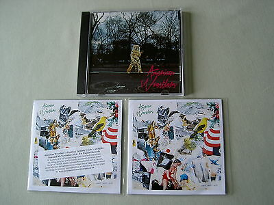 AMERICAN WRESTLERS job lot of 3 promo CDs Goodbye Terrible Youth Give Up